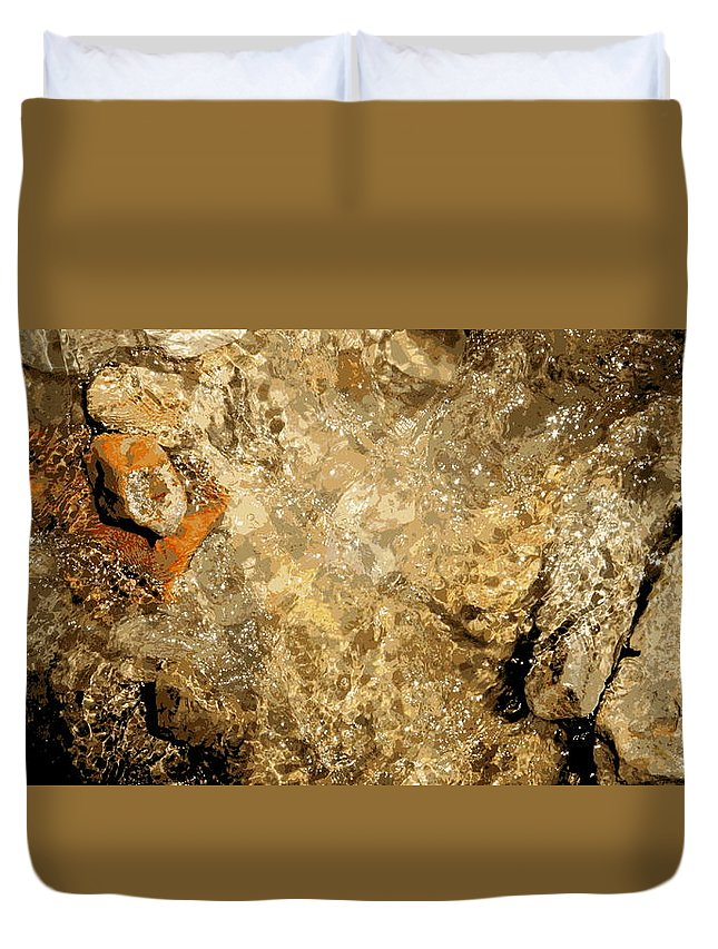 Paint By Numbers Duvet Cover featuring the photograph Paint By Numbers by Ed Smith