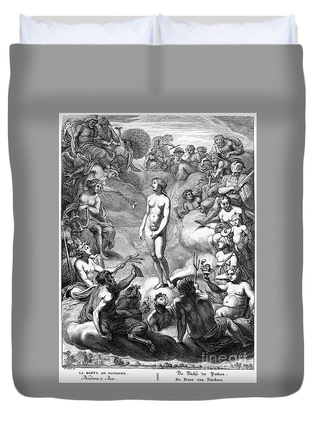 18th Century Duvet Cover featuring the photograph Pandoras Box by Granger