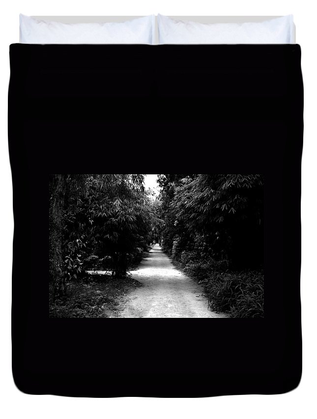 Path Duvet Cover featuring the photograph Path by Sumit Mehndiratta