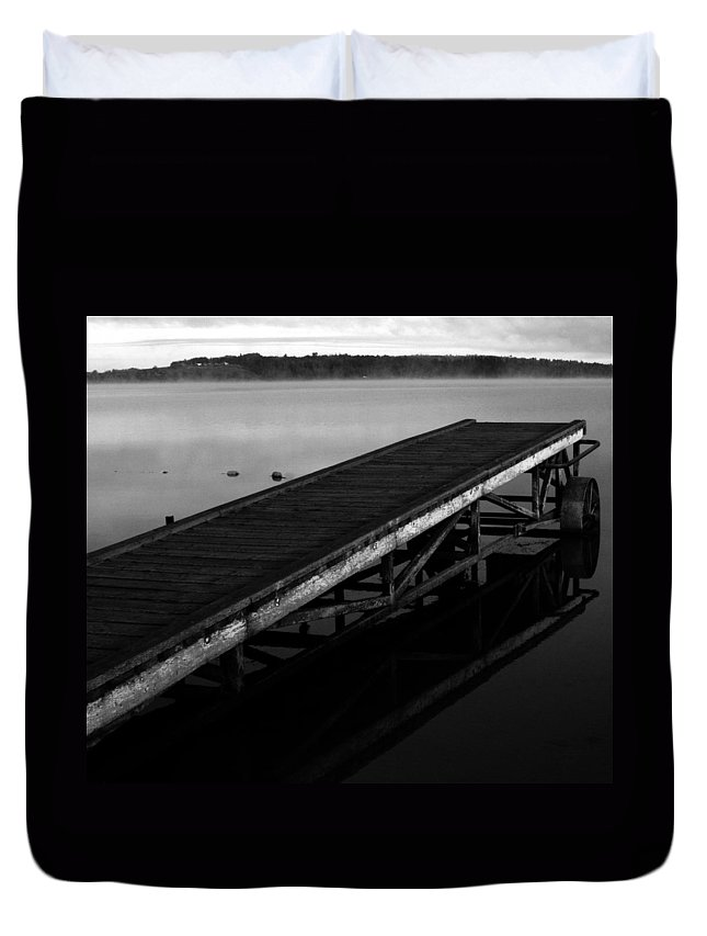 Street Photography Photographs Framed Prints Photographs Framed Prints Duvet Cover featuring the photograph Piers Of Pleasure by The Artist Project