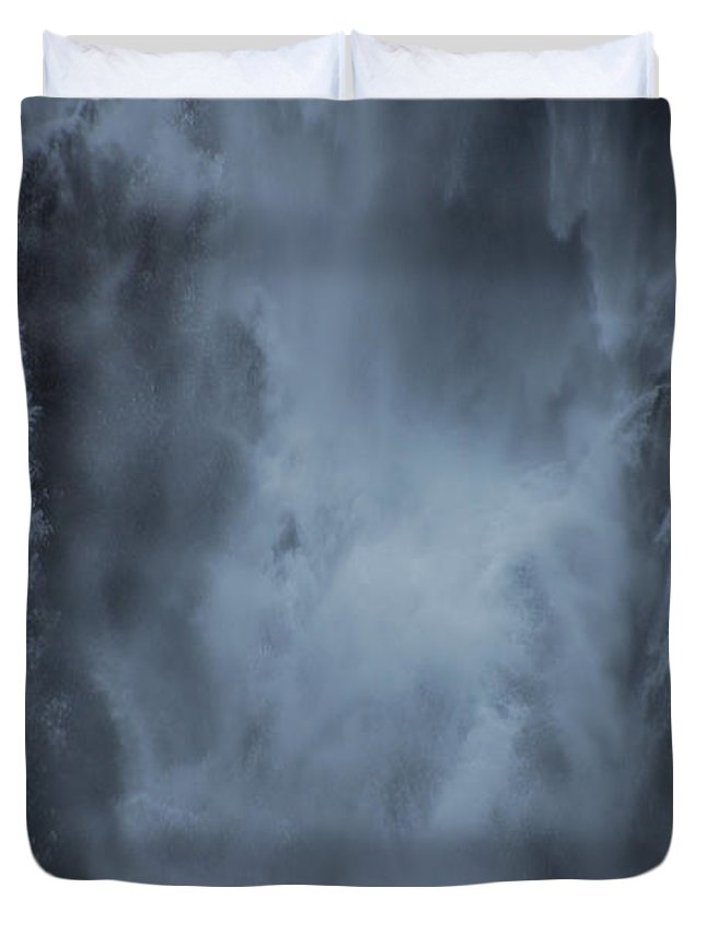 Water Duvet Cover featuring the photograph Power Of Water by Jonah Anderson