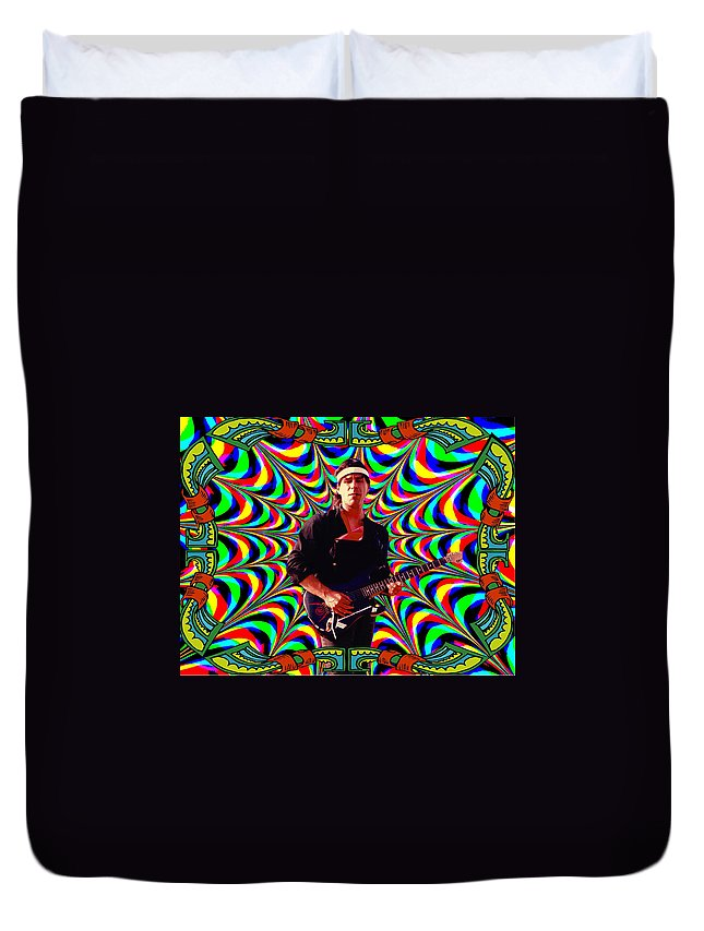 Spirit Duvet Cover featuring the photograph Psychedelicalifornia by Ben Upham