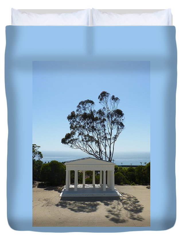 Pt. Loma Duvet Cover featuring the photograph Pt. Loma by Carla Parris