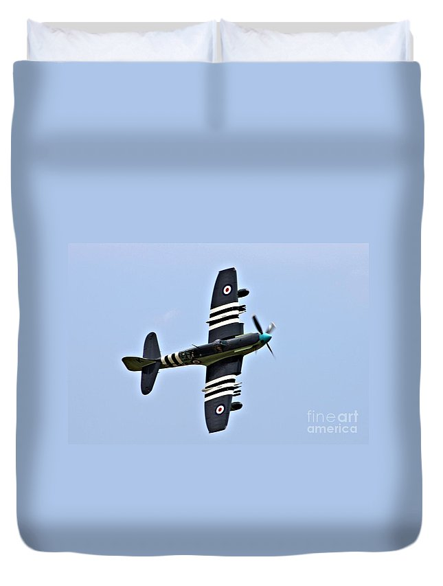 Faircy Firefly Duvet Cover featuring the photograph Raf Faircy Firefly by Tommy Anderson
