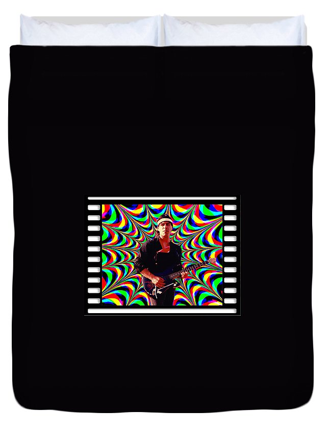 Spirit Duvet Cover featuring the photograph Randy Wolfe by Ben Upham