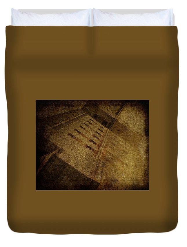 Fort Delaware Duvet Cover featuring the photograph Reflection At Fort Delaware by Trish Tritz