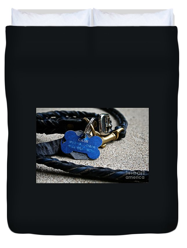 Dog Duvet Cover featuring the photograph Rewards by Susan Herber