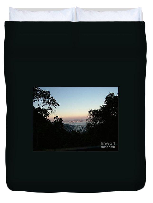 Brazil Duvet Cover featuring the photograph Rio De Janeiro by Popokino Art