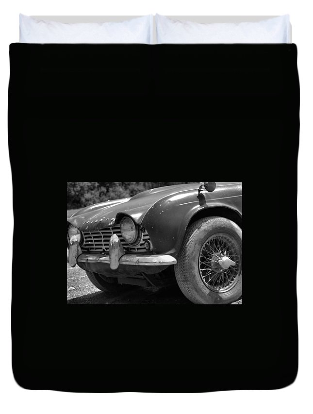 Cars Duvet Cover featuring the photograph Road Warrior by J Todd