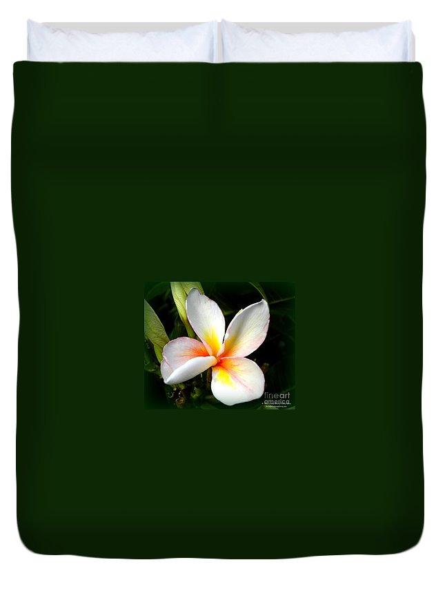 Flower Duvet Cover featuring the photograph Romance by Tisha Clinkenbeard