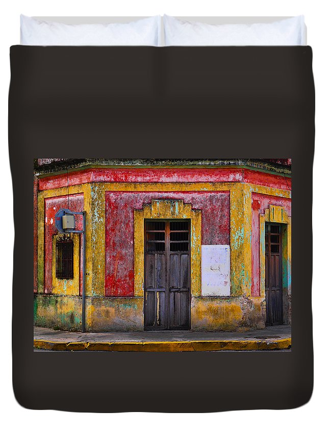 Rosie Duvet Cover featuring the photograph Rosie by Skip Hunt