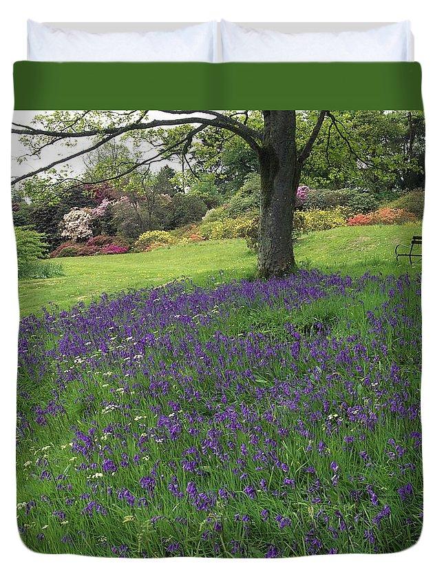 Outdoors Duvet Cover featuring the photograph Rowallane Garden, Co Down, Ireland Wild by The Irish Image Collection