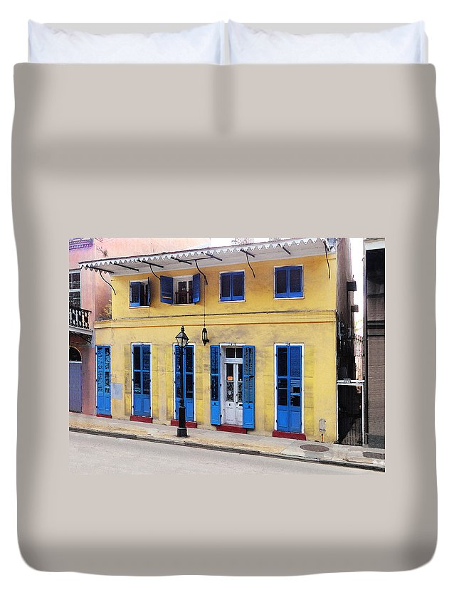 Duvet Cover featuring the digital art Savan Wilby Wilson Home by Michael Thomas