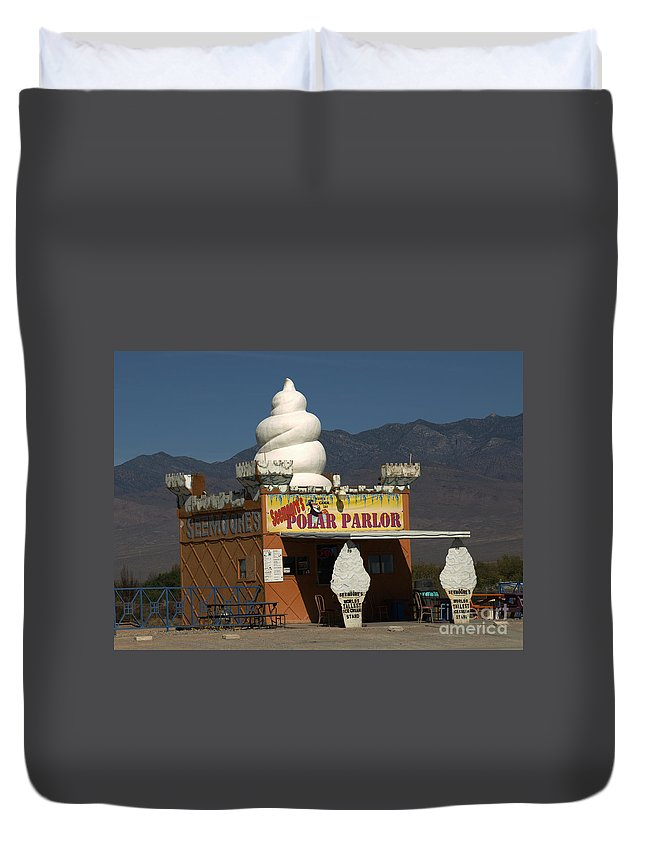 Ice Cream Duvet Cover featuring the photograph Seemore's Ice Cream by Jacklyn Duryea Fraizer