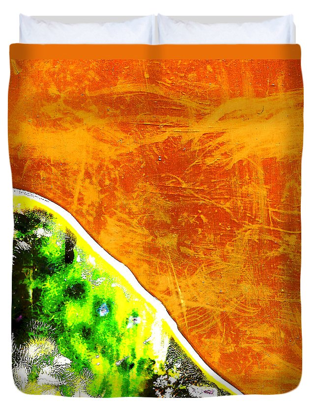 Andy Warhol Duvet Cover featuring the photograph She Walked Toward The Sunrise by Doug Duffey