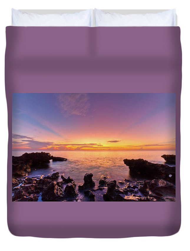 A1a Duvet Cover featuring the photograph Siren Song by Debra and Dave Vanderlaan