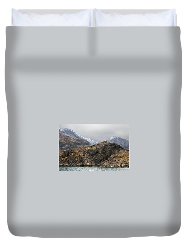 Landscape Duvet Cover featuring the photograph Skye Scotland by David Resnikoff