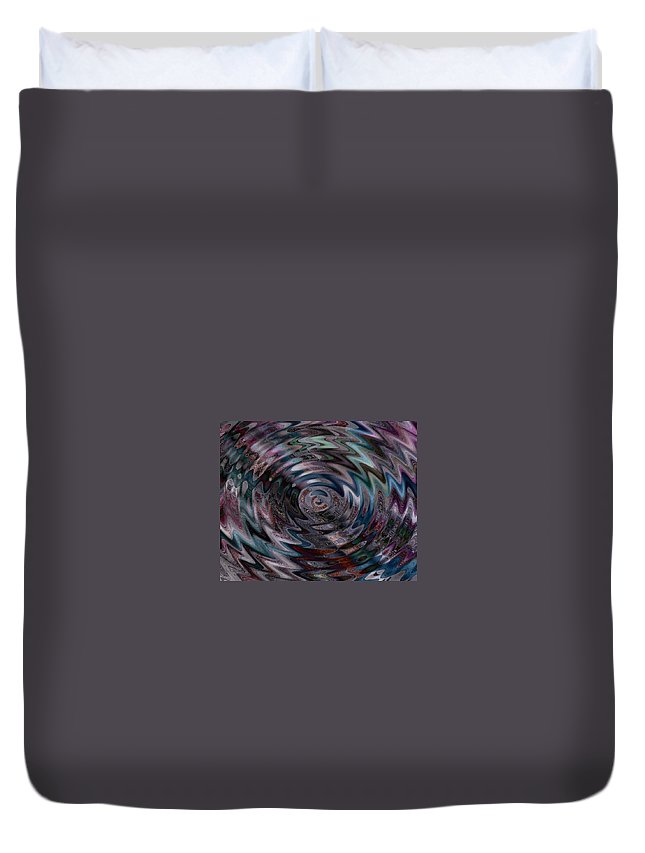 Photo Duvet Cover featuring the photograph Spin Cycle by Barbara S Nickerson