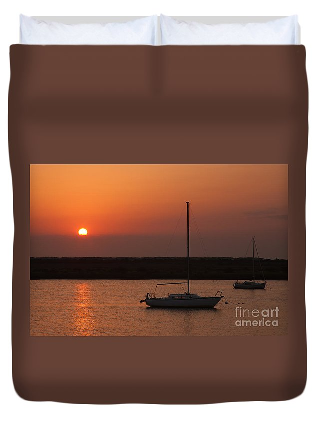 Clarence Holmes Duvet Cover featuring the photograph St. Augustine Sunrise by Clarence Holmes