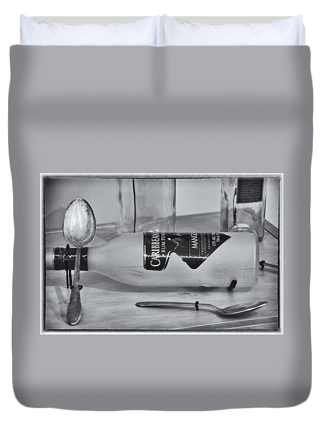 Still Life Duvet Cover featuring the photograph Still Life I by Diane Wood