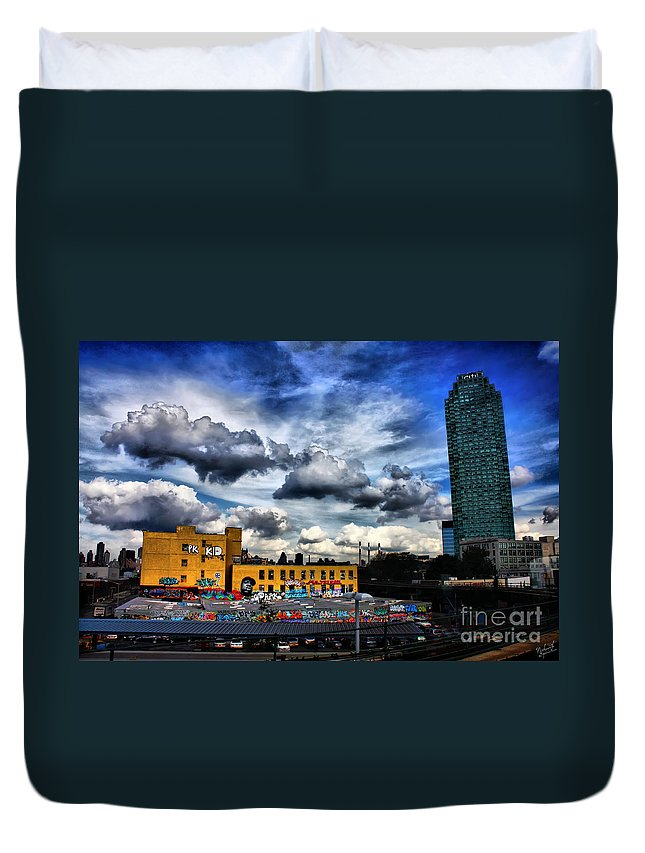 Summer Duvet Cover featuring the photograph Summer Blues by Nishanth Gopinathan