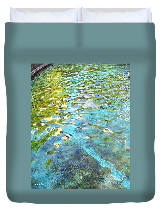 Summer Duvet Cover featuring the photograph Summertime by Eena Bo