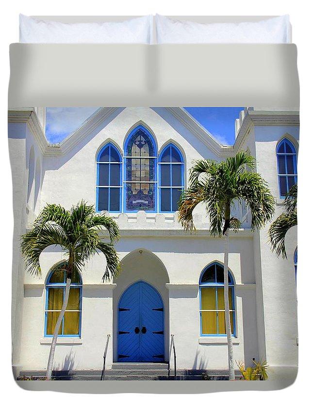 Sunny Sunday Sermon Duvet Cover featuring the photograph Sunny Sunday Sermon by Ed Smith