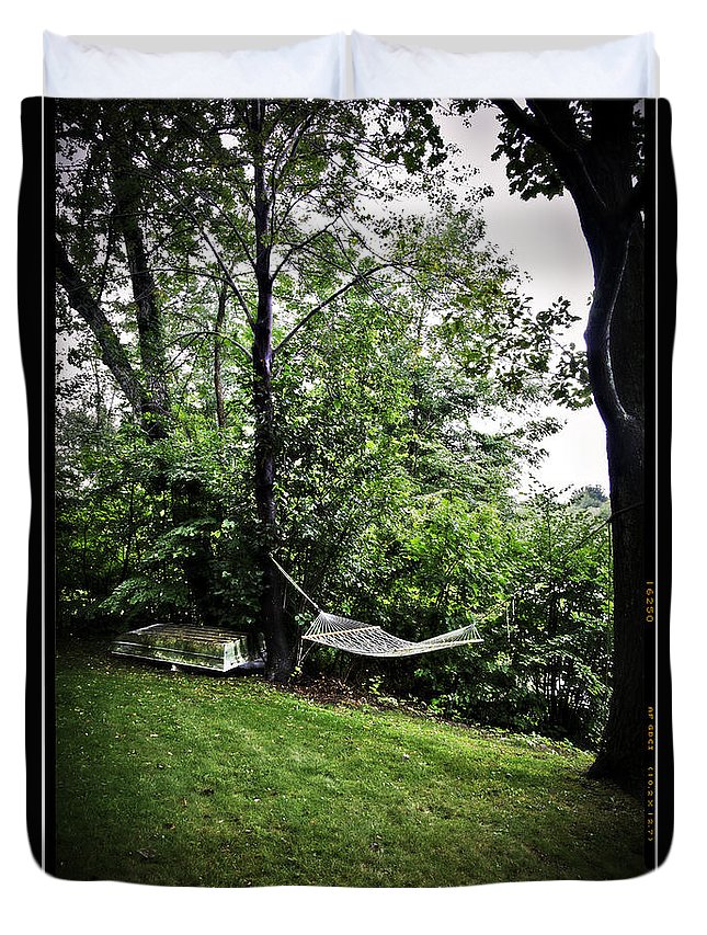 Swing Duvet Cover featuring the photograph Swing Time by Madeline Ellis