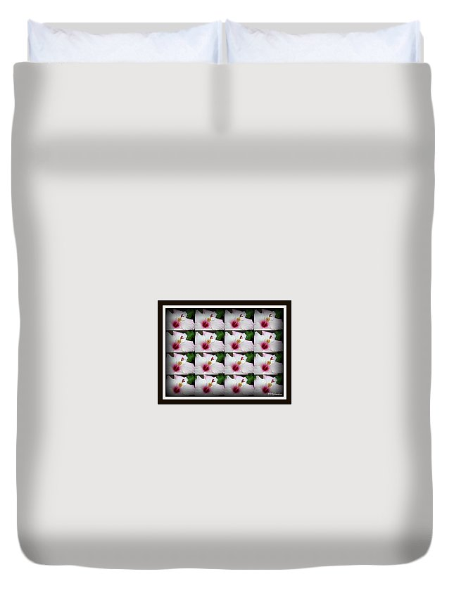 Tessellation Duvet Cover featuring the photograph Tessellation by Priscilla Richardson