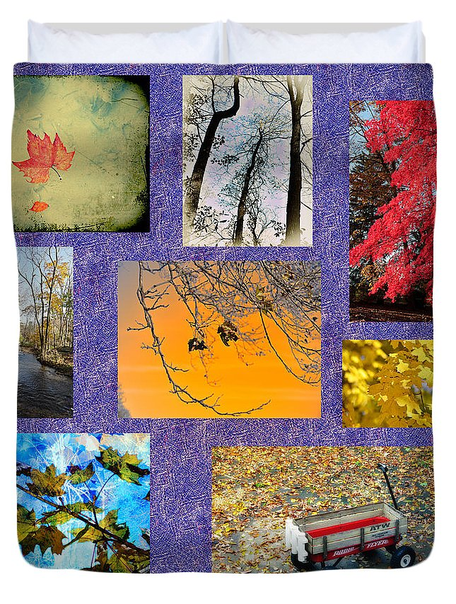 Fall Duvet Cover featuring the photograph The Colors Of Fall by Bill Cannon