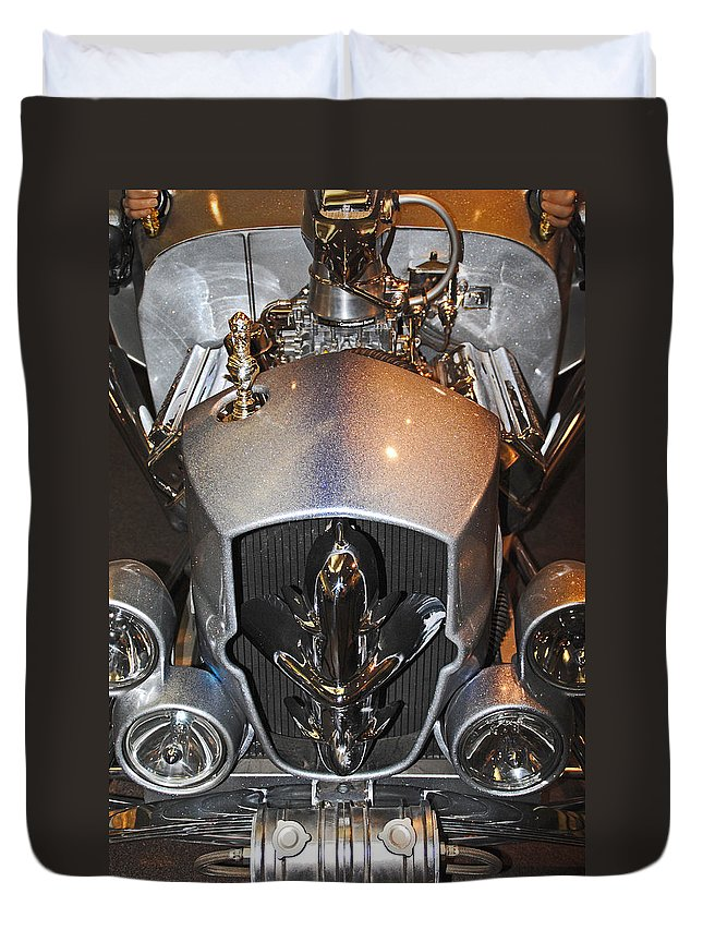 Gothic Duvet Cover featuring the photograph The Gothic Coach by Diane Wood