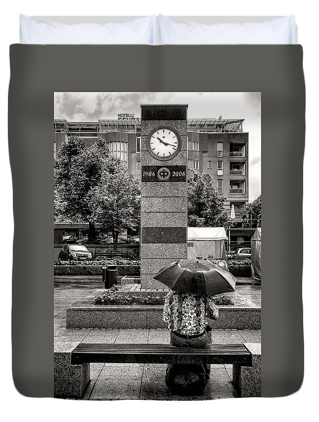 Leisurely Duvet Cover featuring the photograph The Leisurely Life by Ari Salmela