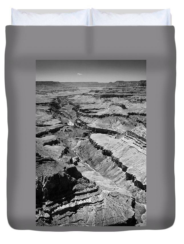Arizona Duvet Cover featuring the photograph The Mighty Colorado by Jason Smith