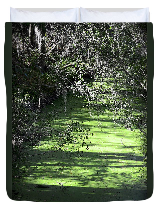 Alafia River Duvet Cover featuring the photograph The River by Carolyn Marshall