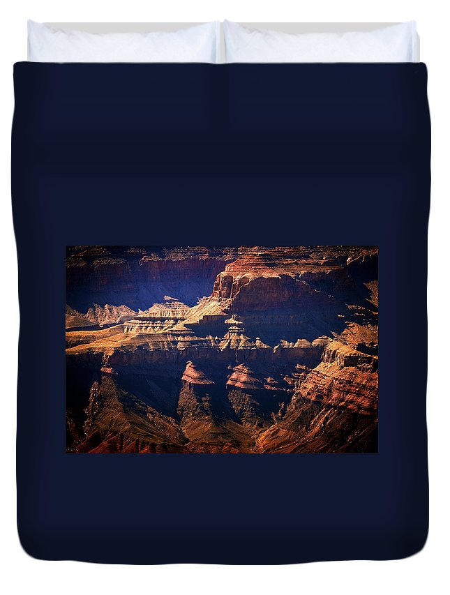 Grand Canyon Duvet Cover featuring the photograph The Spectacular Grand Canyon by Julie Niemela