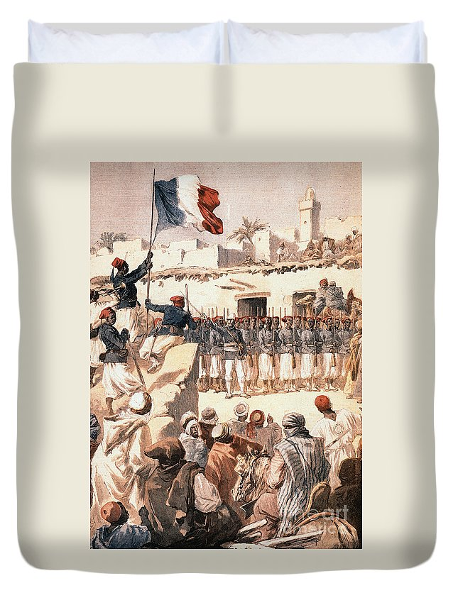 1894 Duvet Cover featuring the photograph Timbuktu, 1894 by Granger