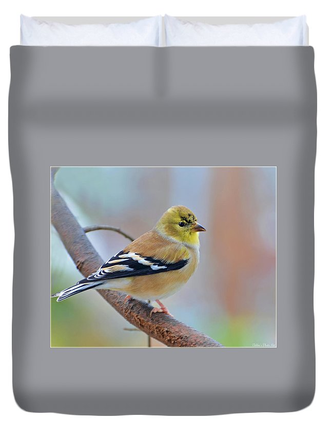 Nature Duvet Cover featuring the photograph Tiny Beauty by Debbie Portwood