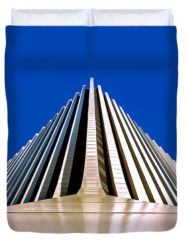 Rochester Duvet Cover featuring the photograph Touch The Sky by Kristen Cavanaugh