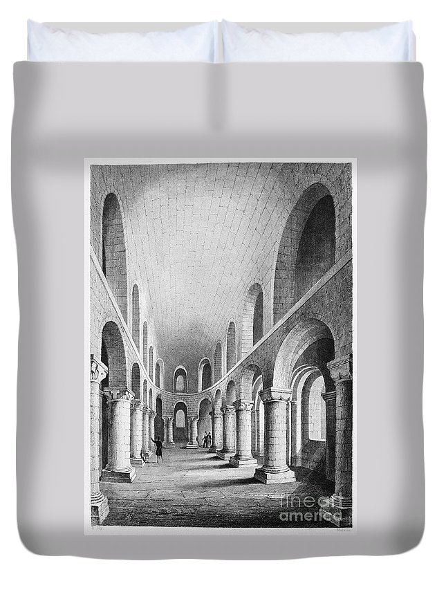 1080 Duvet Cover featuring the photograph Tower Of London: Chapel by Granger