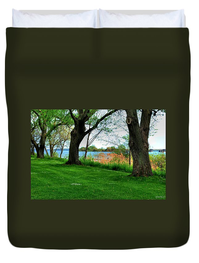Duvet Cover featuring the photograph Untitled No Need by Michael Frank Jr