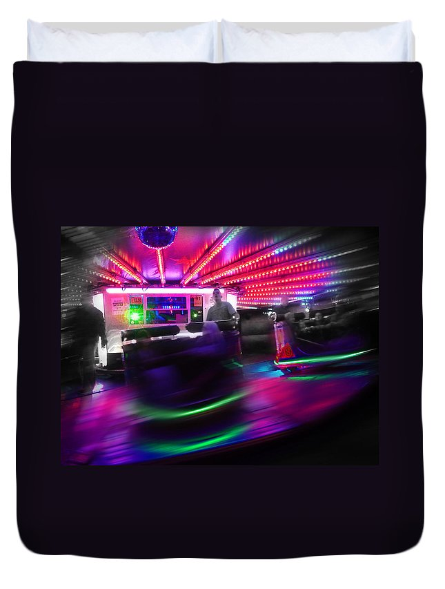 Waltzer Duvet Cover featuring the photograph Waltzing by Charles Stuart