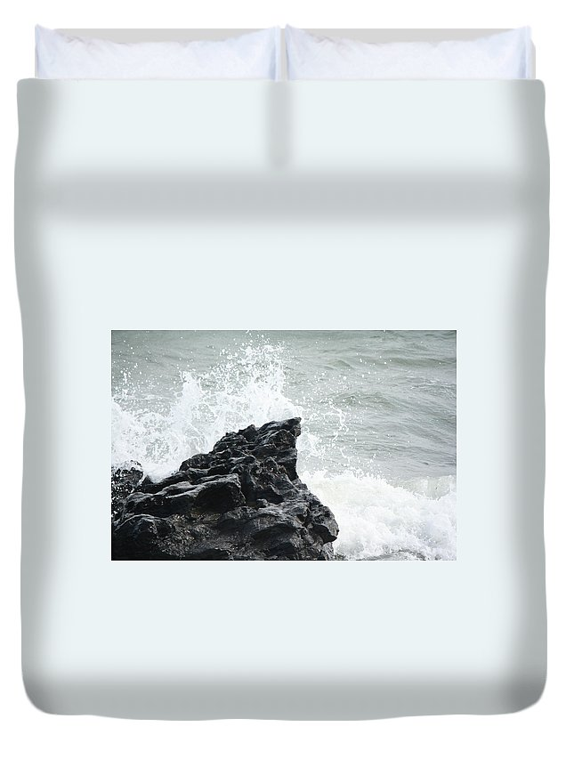 Water Duvet Cover featuring the photograph Water 0003 by Carol Ann Thomas
