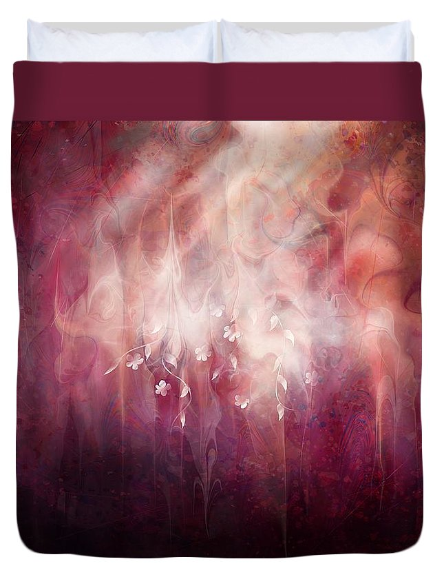 Landscape Duvet Cover featuring the digital art Weight of Glory by William Russell Nowicki