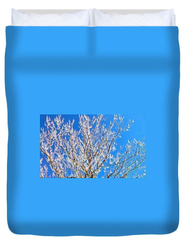 Original Duvet Cover featuring the photograph Winds Upon The Branchs II by Carl Deaville