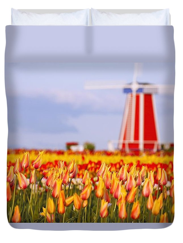 Woodburn Duvet Cover featuring the photograph Woodburn, Oregon, United States Of by Craig Tuttle