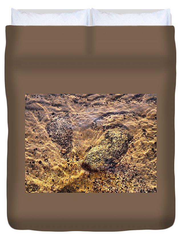 Haukkajärvi Duvet Cover featuring the photograph Lakescapes 3 by Jouko Lehto