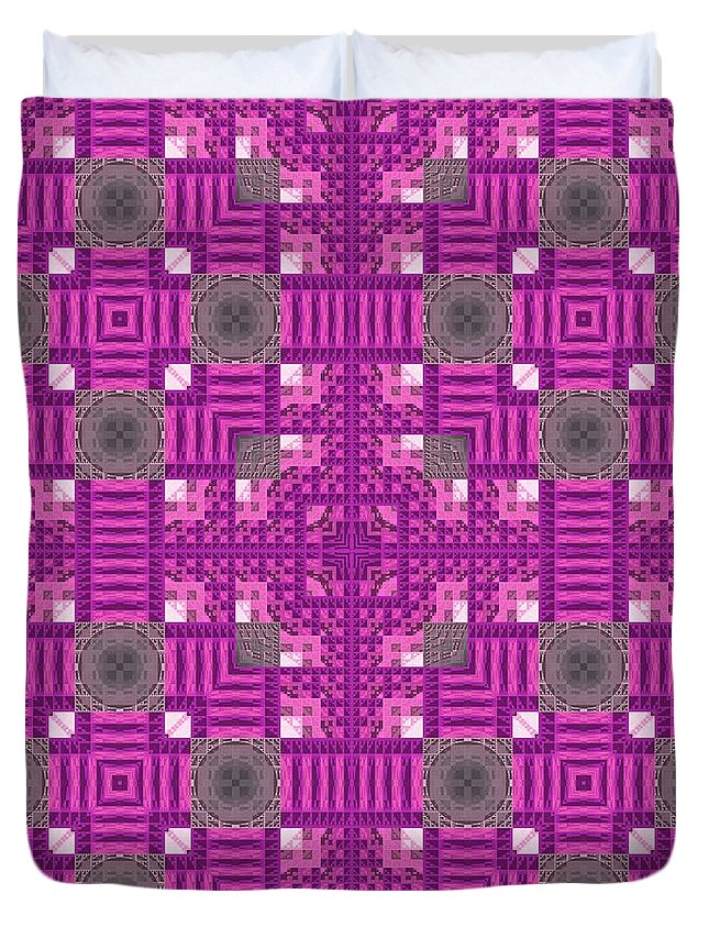 Abstract Duvet Cover featuring the digital art Bok02_0001 by RiaL Treasures