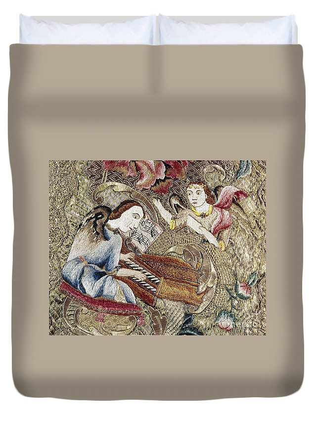 18th Century Duvet Cover featuring the painting Chasuble, 18th Century by Granger