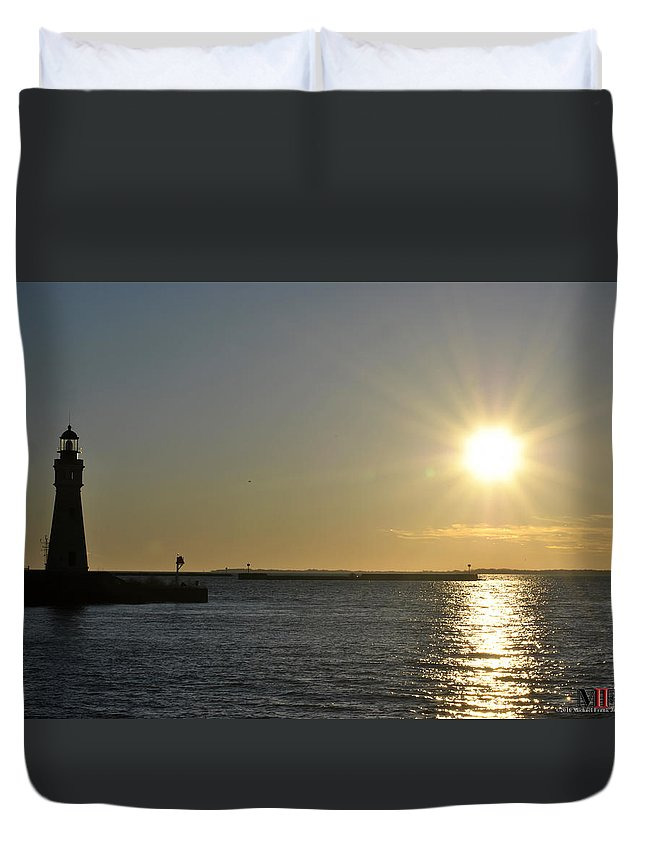 Buffalo Duvet Cover featuring the photograph 04 by Michael Frank Jr
