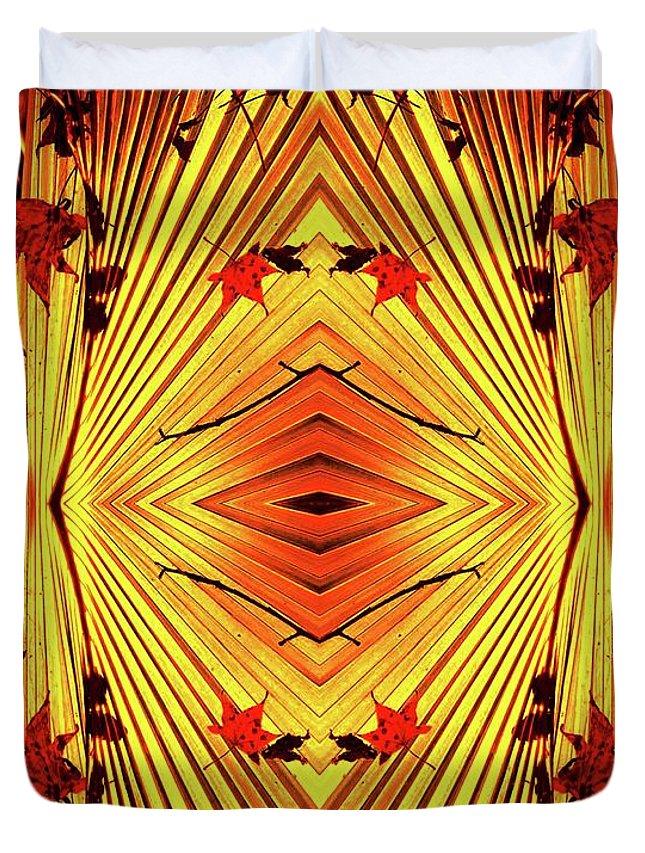 Duvet Cover featuring the digital art 06-4053 by Bill Monroe